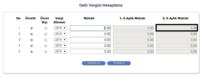 GELİR