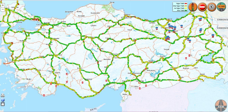 Trafik Yoğunluk Sorgulama