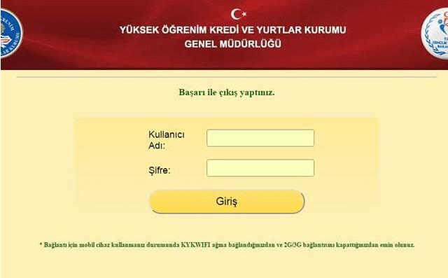 Wifi Giriş