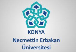 Necmettin Erbakan Üniversitesi 25 Sözleşmeli Personel Alımı